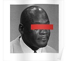 MJ Crying Meme - Red Eyes Poster