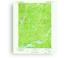 New York NY Paradox Lake 135965 1973 24000 Canvas Print