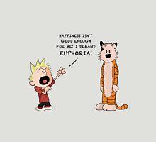 Calvin & Hobbes inspired cartoon T-Shirt