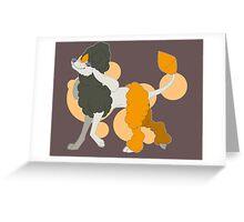 Fabulous Furfrou*SHINY* (Diamond) Greeting Card
