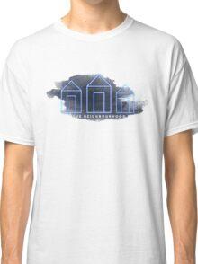 Blue Neighbourhood Watercolour  Classic T-Shirt