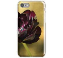 Black Tulip iPhone Case/Skin