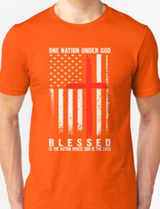 One Nation Under God Blessed T-Shirt