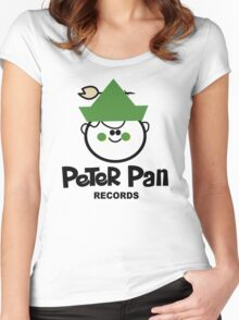 Peter Pan Records - Version 1 Women's Fitted Scoop T-Shirt