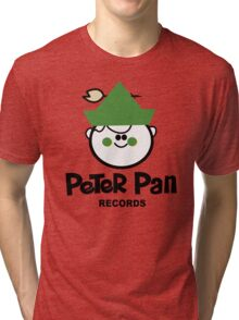 Peter Pan Records - Version 1 Tri-blend T-Shirt