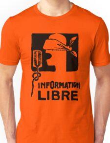 INFORMATION LIBRE Unisex T-Shirt