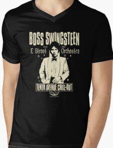 Swing Boss Mens V-Neck T-Shirt