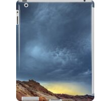 Valley of fire storm iPad Case/Skin
