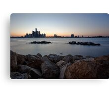 Detroit, Michigan Skyline Canvas Print