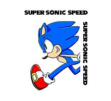 Super Sonic Speed Photographic Print