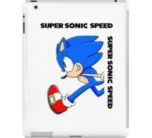 Super Sonic Speed iPad Case/Skin
