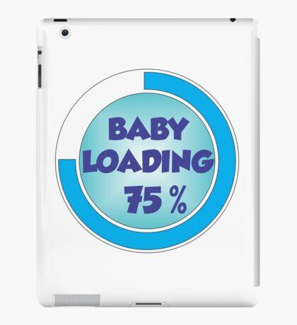 Baby Loading Blue iPad Case/Skin