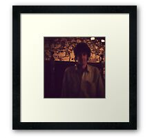 Tall, dark and mysterious Framed Print
