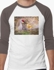 Mother's lovely touch Men's Baseball ¾ T-Shirt