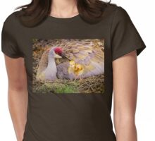 Mother's lovely touch Womens Fitted T-Shirt