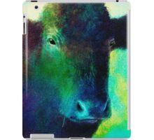 Black Cow iPad Case/Skin