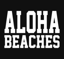Aloha Beaches One Piece - Short Sleeve