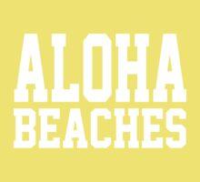 Aloha Beaches One Piece - Short Sleeve