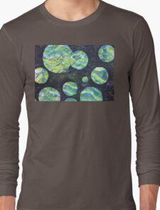 Green Cosmos  Long Sleeve T-Shirt