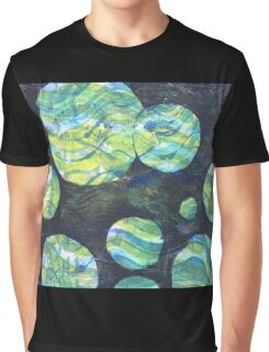 Green Cosmos  Graphic T-Shirt