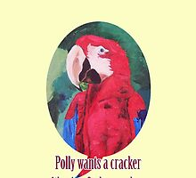 Polly Wants A Cracker With Wine And Cheese Please ? - Samsung Smart Phone Covers by PhoneCase