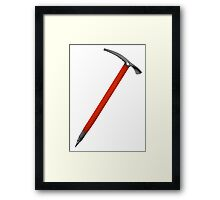 Ice Axe Framed Print