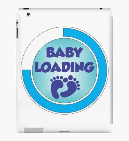 Baby Loading Blue 2 iPad Case/Skin