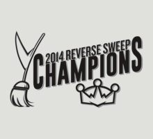 Reverse Sweep Champions (Black Text) by theroyalhalf