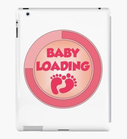 baby loading pink iPad Case/Skin