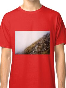 Snowy Mountain Forest Nature Fine Art Photography 0019 Classic T-Shirt