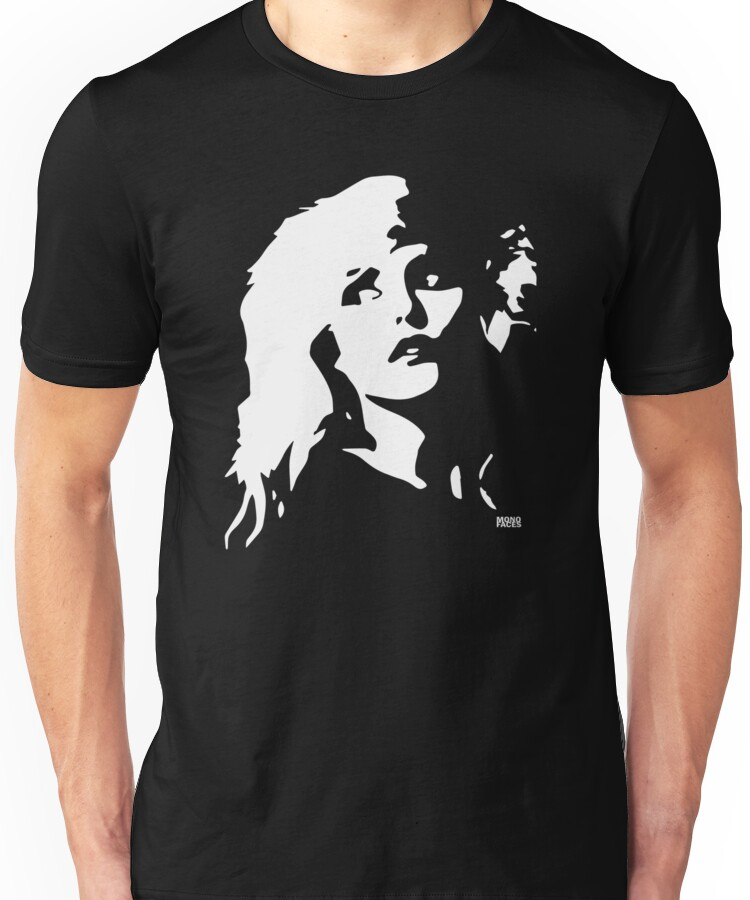 Blondie Debbie Harry Face Unisex T-Shirt