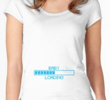 loading baby bar Women's Fitted Scoop T-Shirt