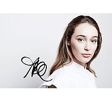 Alycia Debnam-Carey - TCAs 2016 (w/ sig.) Photographic Print