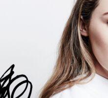 Alycia Debnam-Carey - TCAs 2016 (w/ sig.) Sticker