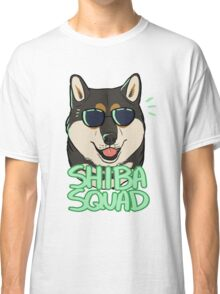 SHIBA SQUAD (black and tan) Classic T-Shirt