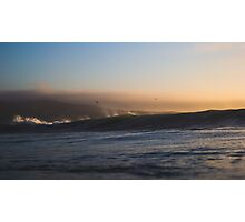 Sunset Ocean Waves Nature Fine Art Photography 0022 Photographic Print