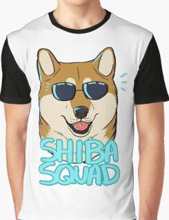 SHIBA SQUAD (red) Graphic T-Shirt