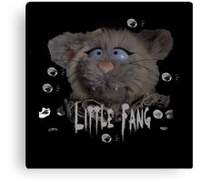 Little Fang Canvas Print