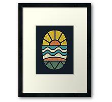 Lets Go Surfing Framed Print
