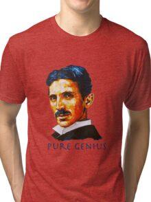 Nikola Tesla Tribute Tri-blend T-Shirt