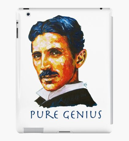 Nikola Tesla Tribute iPad Case/Skin