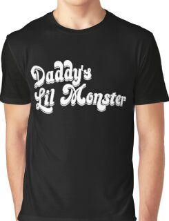 Daddy's Little Monster Graphic T-Shirt