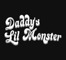 Daddy's Little Monster Kids Tee