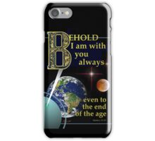 I Am With You iPhone Case/Skin