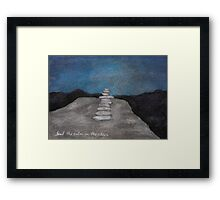 Find the Calm in the Chaos Framed Print