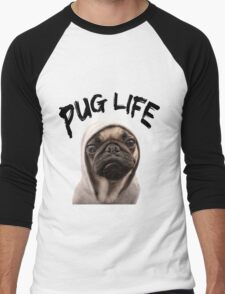 Pug Life Men's Baseball ¾ T-Shirt