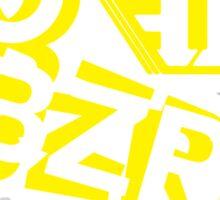 Go BZRK Sticker