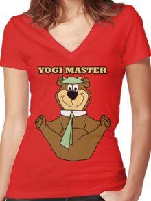 Yogi Master Women's Fitted V-Neck T-Shirt