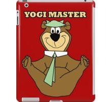 Yogi Master iPad Case/Skin