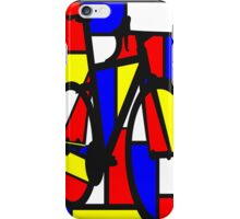 Mondrianesque Road Bike iPhone Case/Skin